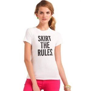 Kate Spade Skirt The Rules T-shirt